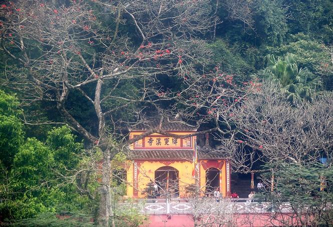 Trẩy hội chùa Hương, ngẩn ngơ ngắm hoa gạo 'thắp lửa' bên suối Yến - ảnh 10