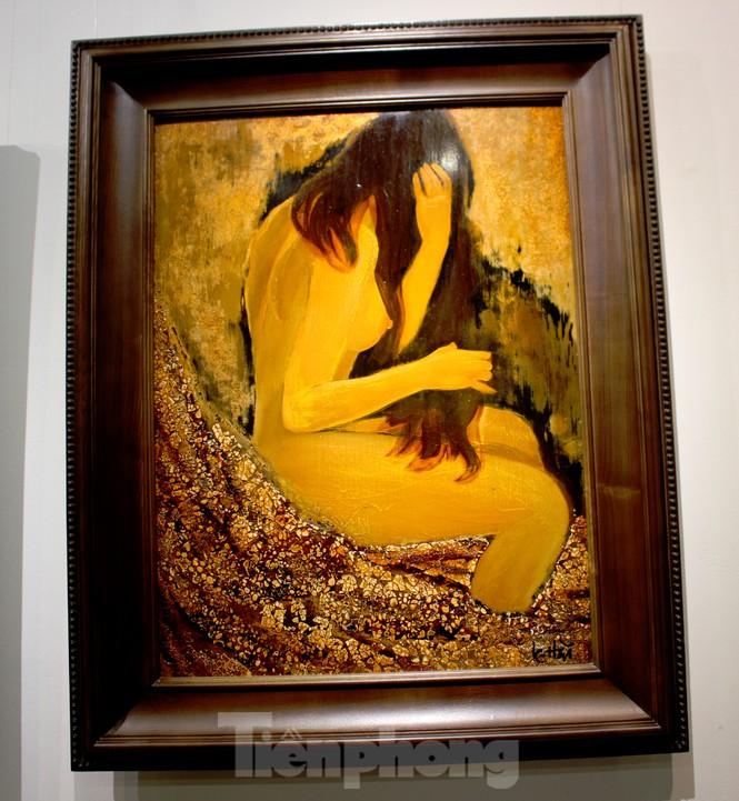 Vẻ đẹp của phụ nữ qua những bức tranh nude nghệ thuật - ảnh 15