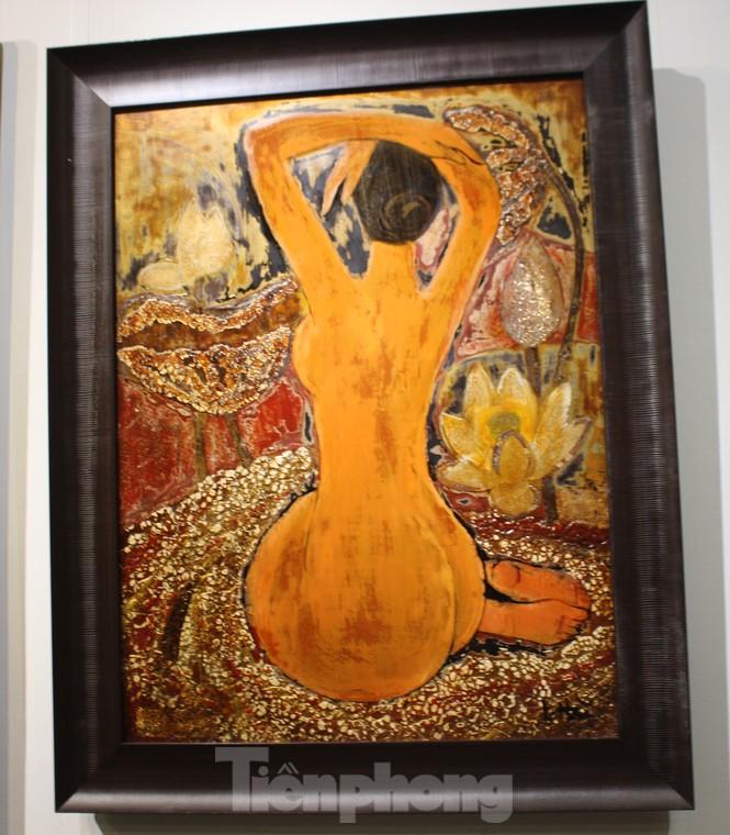Vẻ đẹp của phụ nữ qua những bức tranh nude nghệ thuật - ảnh 16