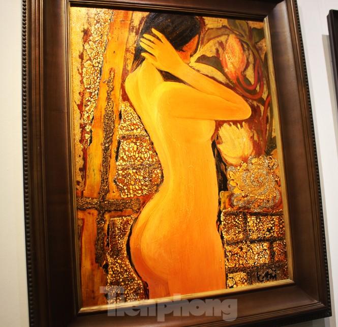 Vẻ đẹp của phụ nữ qua những bức tranh nude nghệ thuật - ảnh 18