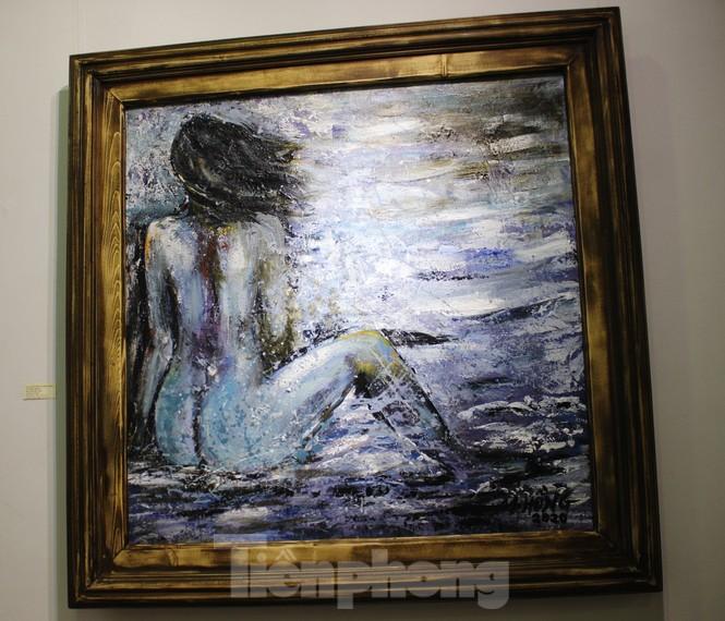 Vẻ đẹp của phụ nữ qua những bức tranh nude nghệ thuật - ảnh 13