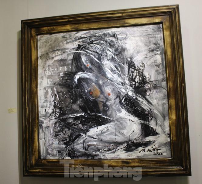 Vẻ đẹp của phụ nữ qua những bức tranh nude nghệ thuật - ảnh 11