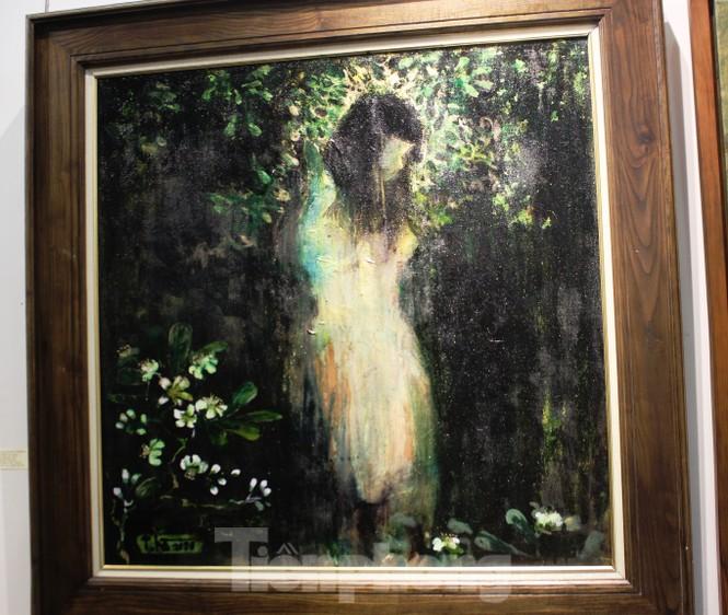 Vẻ đẹp của phụ nữ qua những bức tranh nude nghệ thuật - ảnh 9