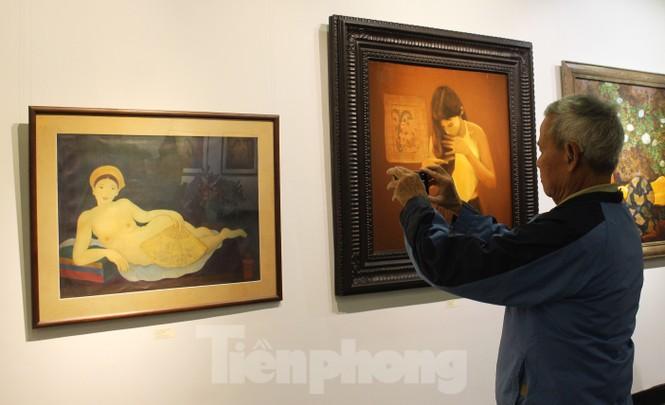 Vẻ đẹp của phụ nữ qua những bức tranh nude nghệ thuật - ảnh 1