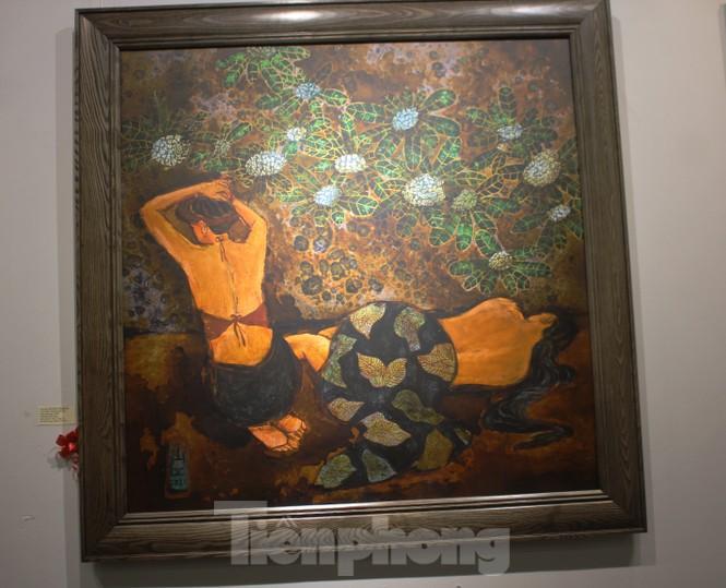 Vẻ đẹp của phụ nữ qua những bức tranh nude nghệ thuật - ảnh 23