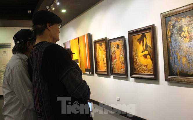 Vẻ đẹp của phụ nữ qua những bức tranh nude nghệ thuật - ảnh 3