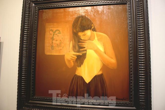 Vẻ đẹp của phụ nữ qua những bức tranh nude nghệ thuật - ảnh 4