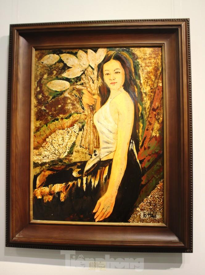 Vẻ đẹp của phụ nữ qua những bức tranh nude nghệ thuật - ảnh 20