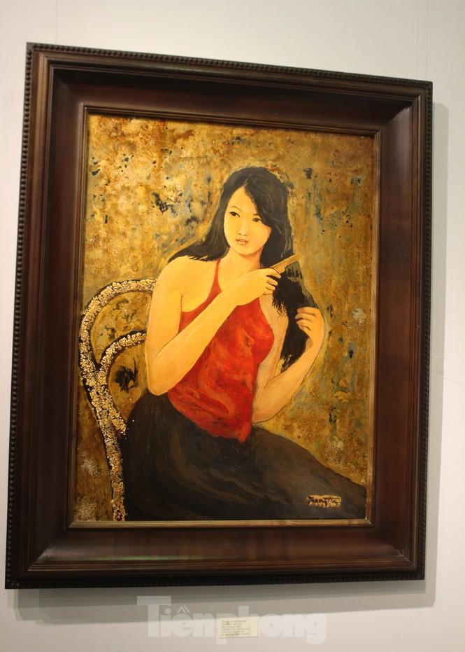 Vẻ đẹp của phụ nữ qua những bức tranh nude nghệ thuật - ảnh 21