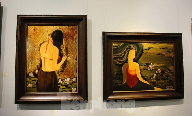 Vẻ đẹp của phụ nữ qua những bức tranh nude nghệ thuật - ảnh 22