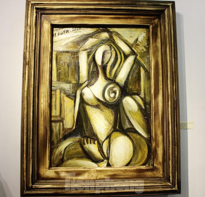 Vẻ đẹp của phụ nữ qua những bức tranh nude nghệ thuật - ảnh 25