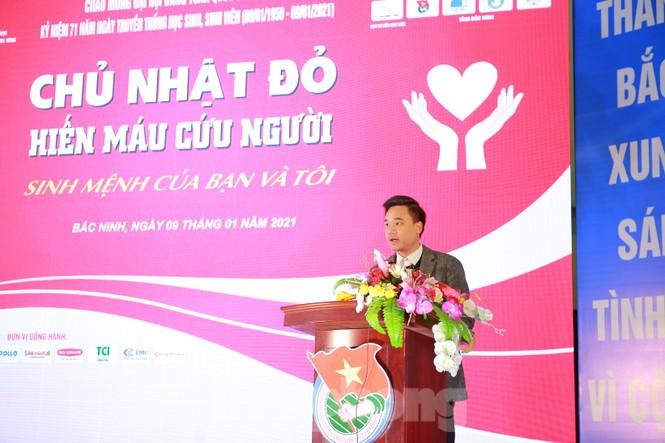1.600 bạn trẻ tham gia Chủ nhật Đỏ tại tỉnh Bắc Ninh - ảnh 4