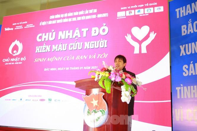 1.600 bạn trẻ tham gia Chủ nhật Đỏ tại tỉnh Bắc Ninh - ảnh 9