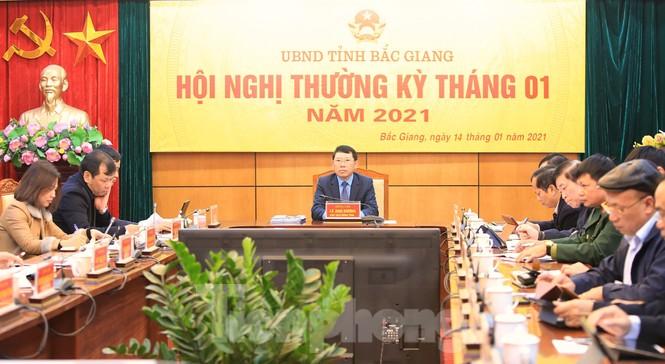 Nhờ kiểm soát tốt Covid-19, công nghiệp tỉnh Bắc Giang tăng trưởng hơn 30% - ảnh 1