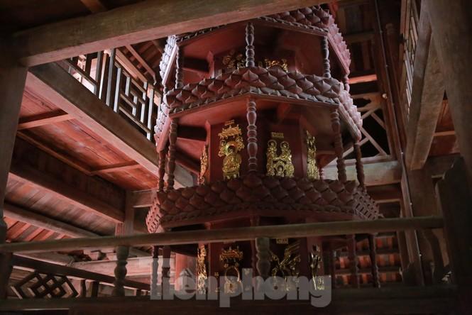 Chiêm ngưỡng tòa cửu phẩm liên hoa - bảo vật quốc gia tại chùa Bút Tháp ở Bắc Ninh - ảnh 10
