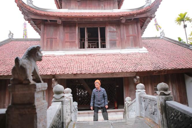 Chiêm ngưỡng tòa cửu phẩm liên hoa - bảo vật quốc gia tại chùa Bút Tháp ở Bắc Ninh - ảnh 2