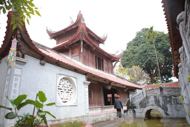 Chiêm ngưỡng tòa cửu phẩm liên hoa - bảo vật quốc gia tại chùa Bút Tháp ở Bắc Ninh - ảnh 1