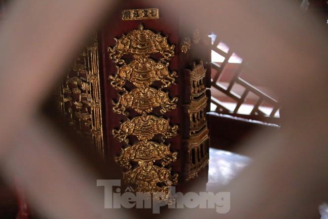 Chiêm ngưỡng tòa cửu phẩm liên hoa - bảo vật quốc gia tại chùa Bút Tháp ở Bắc Ninh - ảnh 11