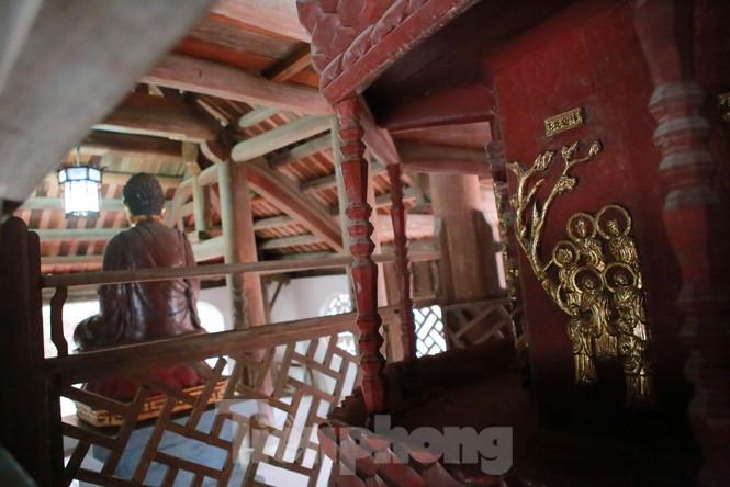 Chiêm ngưỡng tòa cửu phẩm liên hoa - bảo vật quốc gia tại chùa Bút Tháp ở Bắc Ninh - ảnh 9