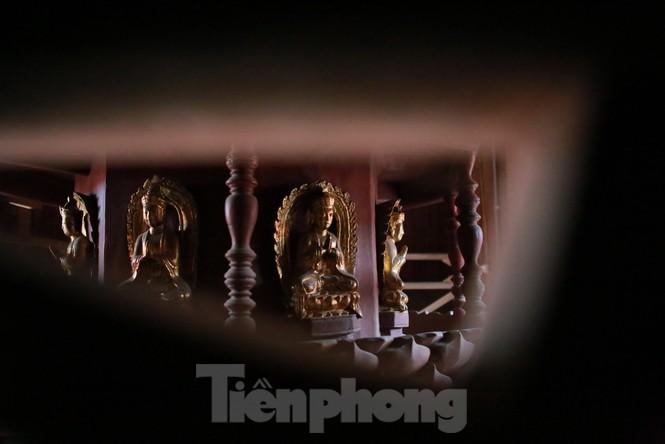 Chiêm ngưỡng tòa cửu phẩm liên hoa - bảo vật quốc gia tại chùa Bút Tháp ở Bắc Ninh - ảnh 8