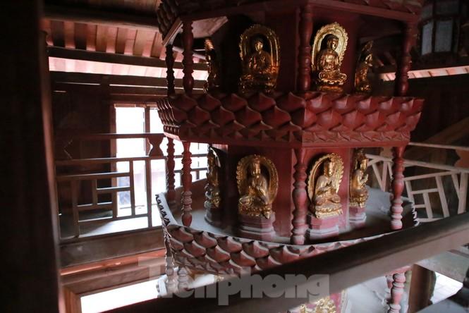Chiêm ngưỡng tòa cửu phẩm liên hoa - bảo vật quốc gia tại chùa Bút Tháp ở Bắc Ninh - ảnh 14