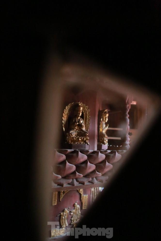 Chiêm ngưỡng tòa cửu phẩm liên hoa - bảo vật quốc gia tại chùa Bút Tháp ở Bắc Ninh - ảnh 13