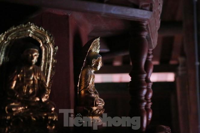Chiêm ngưỡng tòa cửu phẩm liên hoa - bảo vật quốc gia tại chùa Bút Tháp ở Bắc Ninh - ảnh 7