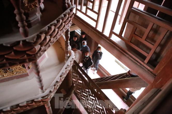 Chiêm ngưỡng tòa cửu phẩm liên hoa - bảo vật quốc gia tại chùa Bút Tháp ở Bắc Ninh - ảnh 4