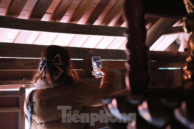 Chiêm ngưỡng tòa cửu phẩm liên hoa - bảo vật quốc gia tại chùa Bút Tháp ở Bắc Ninh - ảnh 6
