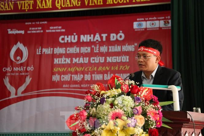 Sôi nổi ngày hội Chủ nhật Đỏ tại Bắc Giang - ảnh 13