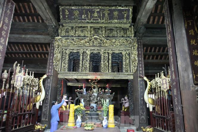 Độc đáo bảo vật quốc gia Cửa võng tại đình làng Thổ Hà ở Bắc Giang - ảnh 1