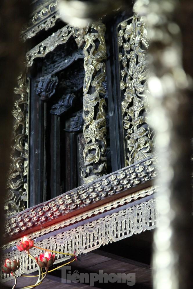 Độc đáo bảo vật quốc gia Cửa võng tại đình làng Thổ Hà ở Bắc Giang - ảnh 10