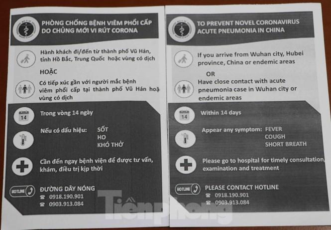 Chống virus corona: Giám sát chặt khách quốc tế tại sân bay Tân Sơn Nhất  - ảnh 3