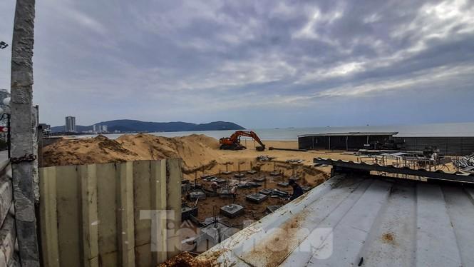 Dừng thi công dự án quán cà phê trên bờ biển Quy Nhơn - ảnh 2