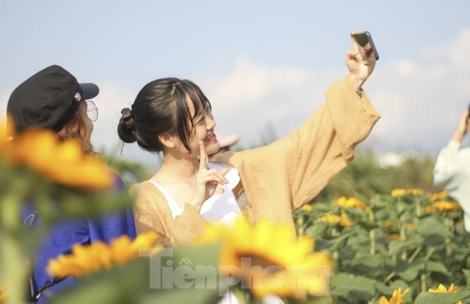 """""""Lạc"""" giữa cánh đồng hoa đang độ khoe sắc ngày xuân - ảnh 12"""