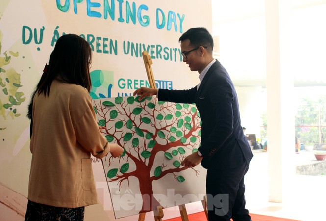 Giới trẻ Đà Nẵng hào hứng với thử thách sống xanh - ảnh 1