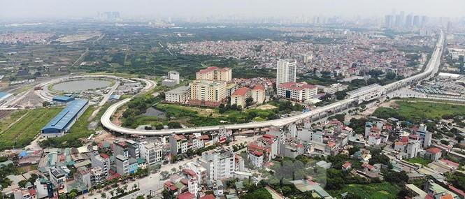 Hình hài đường sắt Nhổn - Ga Hà Nội sau 2 năm chậm tiến độ - ảnh 1