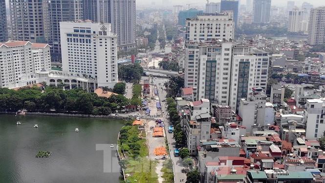 Hình hài đường sắt Nhổn - Ga Hà Nội sau 2 năm chậm tiến độ - ảnh 4