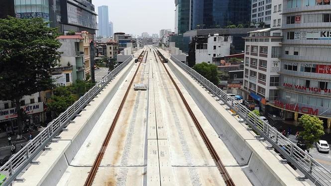 Hình hài đường sắt Nhổn - Ga Hà Nội sau 2 năm chậm tiến độ - ảnh 6