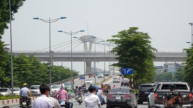 Hình hài đường sắt Nhổn - Ga Hà Nội sau 2 năm chậm tiến độ - ảnh 12