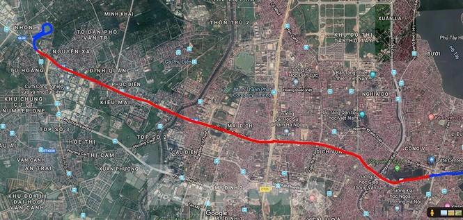 Hình hài đường sắt Nhổn - Ga Hà Nội sau 2 năm chậm tiến độ - ảnh 19