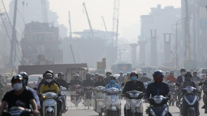 Hà Nội lại chìm trong ô nhiễm, khuyến cáo người dân hạn chế ra đường - ảnh 7