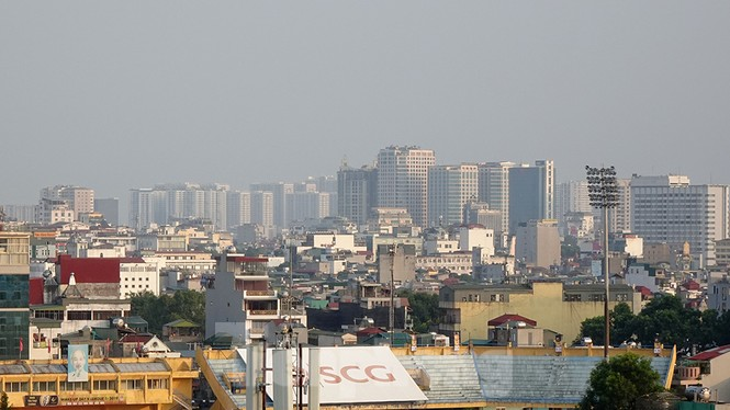 Hà Nội lại chìm trong ô nhiễm, khuyến cáo người dân hạn chế ra đường - ảnh 8