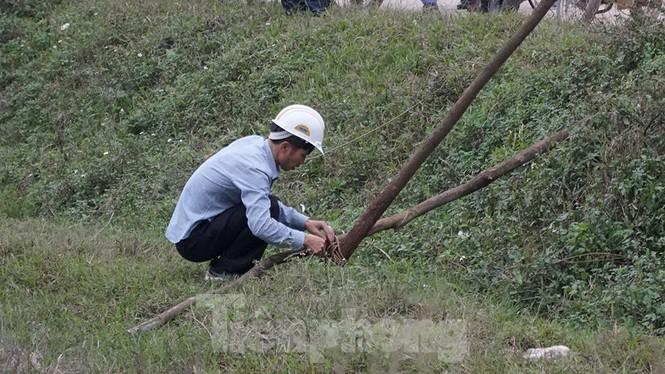 Hình ảnh người dân Nam Sơn tháo lều bạt sau đối thoại với chính quyền - ảnh 2
