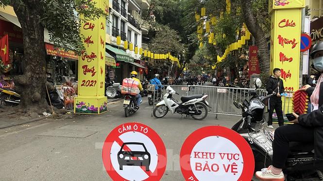 Nhộn nhịp chợ hoa tết lâu đời nhất Hà Nội - ảnh 2