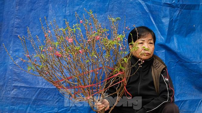 Nhộn nhịp chợ hoa tết lâu đời nhất Hà Nội - ảnh 10