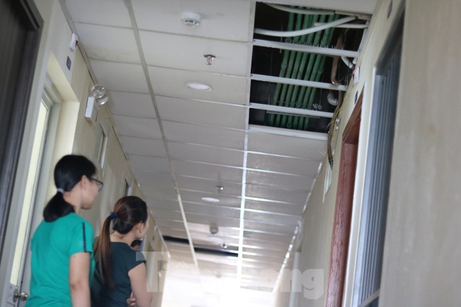Chung cư dành cho công nhân vừa sử dụng đã xuống cấp - ảnh 2