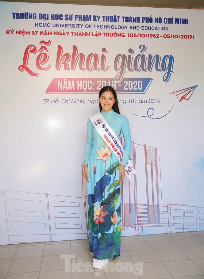 Hoa hậu Tiểu Vy làm Đại sứ Sinh viên Trường ĐH Sư phạm Kỹ thuật TPHCM - ảnh 6