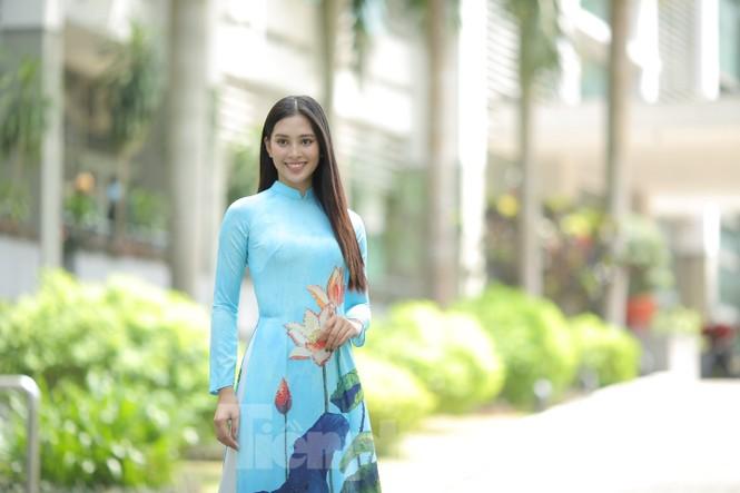 Hoa hậu Tiểu Vy làm Đại sứ Sinh viên Trường ĐH Sư phạm Kỹ thuật TPHCM - ảnh 9