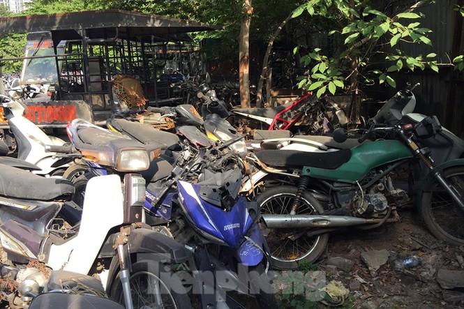 Porsche, Lexus... tiền tỷ phủ bụi, 'bỏ xó' trong bãi giữ xe ở Hà Nội - ảnh 2
